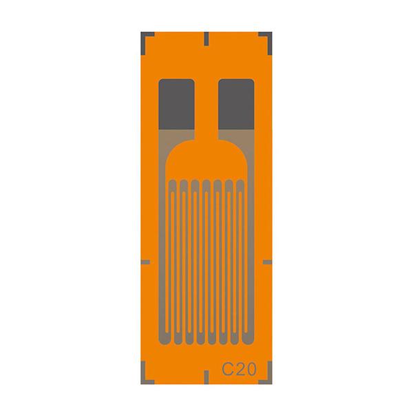 LCT單軸單柵應變片(高阻抗-AA系列)省電高阻抗應變計