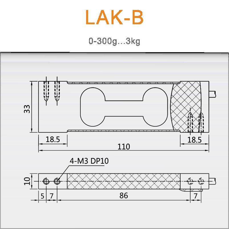 LAK-B天平传感器/高精度称重