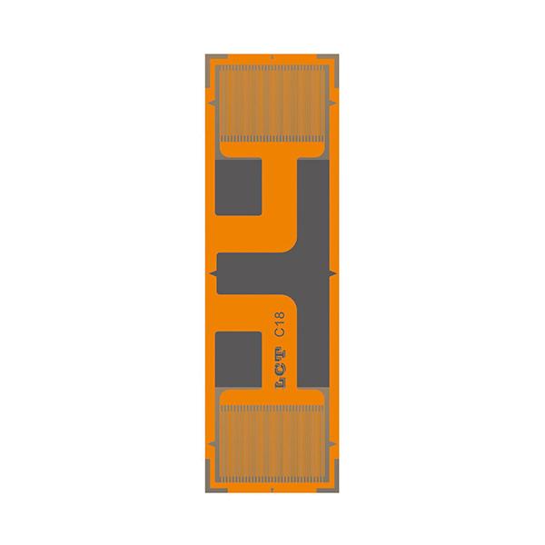 LCT半桥片同轴二栅(1000Ω以上高阻抗GB系列)高精度应变片